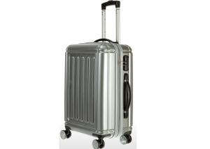 China Anti wear ABS luggage sets 4 wheels with flexible PC film Trolley Travel Bag on sale