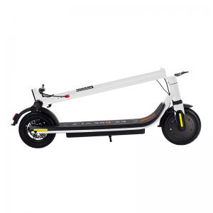 China White Powerful Electric Scooter 20km Long Range Portable 350W Motor For Adults on sale