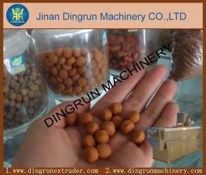 China Fish food extruder equipment/aquarium fish food pellet machine on sale