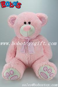 China Pink Giant Stuffed Toy Bear with Big Tummy For Promotional Products gifts on sale
