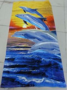 China Customized Beach Towel on sale