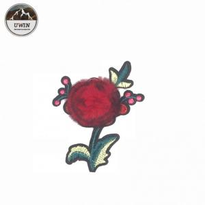 China Trendy Design Flower Sew On Patches , Sew On Cloth Badges For Ladies Evening Wear on sale