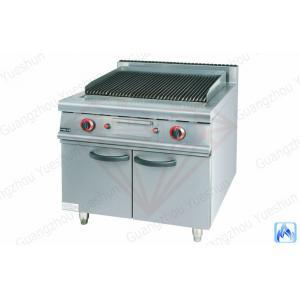 China Gril de roche de lave de gaz avec le Cabinet pour l'équipement occidental de cuisine on sale