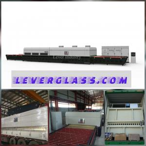 China 2440 x 3660 Glass Tempering Furnace with High-temperature Convection Fan on sale