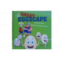 Coated Matt Art Paper Kids Book Printing , Picture Book Printing For The Great Eggscape