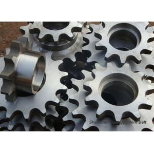 Quality High Precision Stainless Steel Sprockets Wheel Gear With Powder Metallurgy Processing for sale