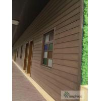 China Easy fixing wall cladding, wood plastice composite WPC wall panels on sale
