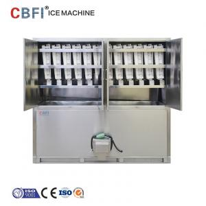 China ETC 3 Tons Commercial Ice Cube Machine / Stand Alone Ice Maker on sale