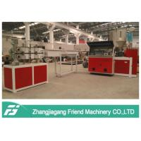 China Three Layers Pvc Fiber Reinforced Hose Extrusion Line Weather Resistance on sale