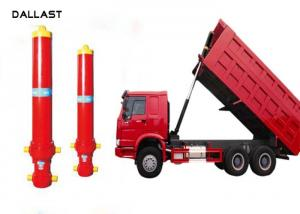 China Telescopic Multi Stage Hydraulic Cylinder Single Acting Dump Truck Hydraulic Oil Cylinder on sale