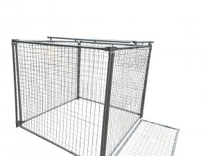 China 1500MM X 1800MM X 1800MM rubbish cage for sale rubbish containment customized on sale