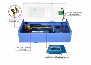China Wheel Type Acrylic Laser Engraving Machine CO2 Closed Laser 300*200mm on sale