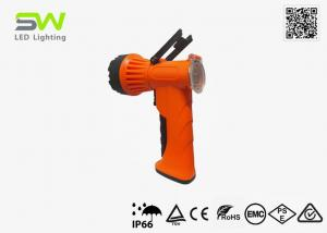 China Economical 3W LED Rechargeable Spotlight For Fishing , 300 Meters Beam Distance on sale