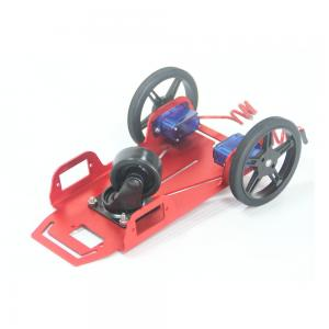 China Robot car For Primary School Education DIY Raspberry Pi Mobile Robotic Platform For Kid's Education on sale