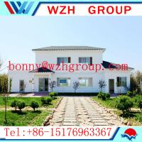 China Prefab light steel villa house / easy assemble prefab house made in China on sale