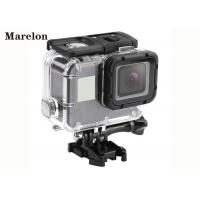 Action Camera Accessories / Gopro Hero 5 Waterproof Case High Transparent Material