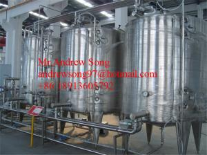 China Automatic CIP Cleaning System/CIP Washing System/Fresh Milk CIP System (clean in place) on sale
