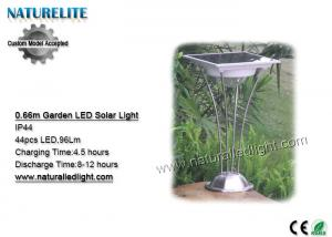 China 0.66M IP44 Solar Garden LED Lights   Sensor Switch Stainless Steel   Aluminum Alloy on sale