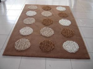 China structured shaggy rug/multi-shaggy/soft shaggy rug on sale