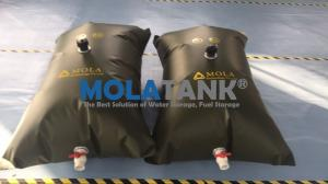 China Domestic PVC Inflatable Water Storage Tanks / Bladders for Water Plant Houses on sale