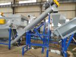 Industrial Waste Plastic Washing Recycling Machine With Stainless Steel Tank