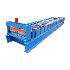 China 380V Coated Steel Roofing Rolling Machine 3 Phase With 4.0kw Power on sale
