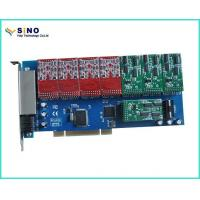 PCI to Isa Card Sinov-TDM1600P 16 Port FXO / FXS PCI Card VoIP WCDMA Gateway Witn Imsi Catcher