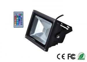 China Professional Colored RGB LED Flood Light 50 watt With Remote Control on sale