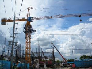 China transport Machinery self erecting potain Tower Cranes operator specifications on sale