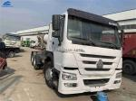 Year 2013 Used Howo Tractor Truck 371hp 40-80 Tons Left Hand Driving For Ghana