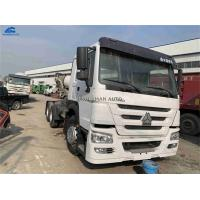 China Year 2013 Used Howo Tractor Truck 371hp 40-80 Tons Left Hand Driving For Ghana on sale