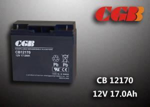 China Maintenance Free 12V 17AH Regulated Lead Acid Battery For UPS Energy on sale