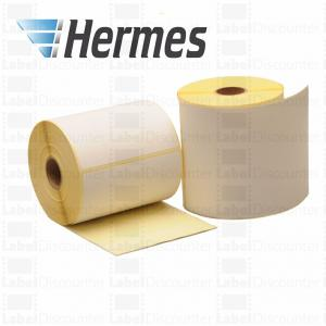 China Zebra Hermes shipping labels compatible, 102mm x 210mm, core 25mm on sale