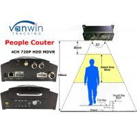China Over 98% Accuracy Unique 3G GPRS People Counter MDVR for Bus Passenger Counting on sale
