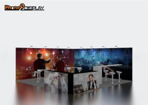 China Easy Transport Trade Show Exhibit Booths / Expo Fair Exhibition Booth For Advertising on sale
