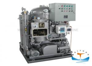 China Solas Approval Marine Fuel Water Separator 15PPM Standard 1000x600x1320 Size on sale