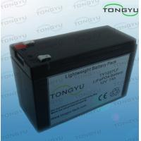 China Eco-friendly LiFePO4 Battery 12V 7Ah Pack For Wireless Portable Sound System on sale