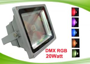 China DMX 512 Outdoor Color LED Flood Lights Fixture with COB Led Chip for Tunnel , Subway on sale