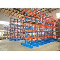 China Warehouse Double Sided Cantilever Rack , Industrial Steel Storage Racks on sale