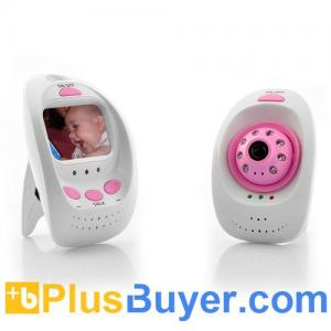 China 2.4GHz Digital Wireless Baby Monitor + Camera (8 LEDs, Night Vision, 2.4 Inch Screen) on sale
