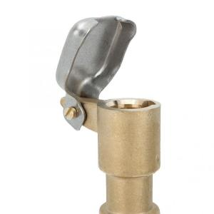 China 1 Inch Brass Quick Release Coupling Valve 2 - 8.8 Bar For Agriculture Irrigation on sale