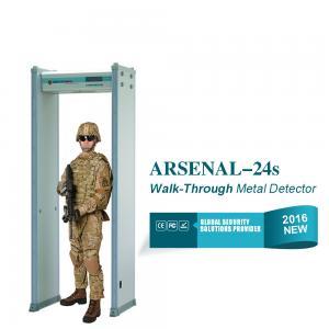 China Portable do detector de metais da porta da inspeção da segurança do salão de exposição com registro contrário on sale