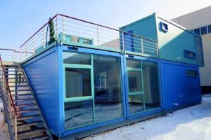 China Customized Self - Regulating Prefab Commercial Buildings Anti Earthquake With Bathroom on sale