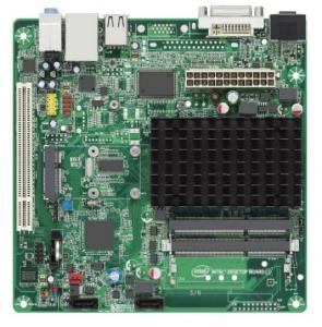 China Dual Core 1.86GHz Mini ITX Mainboard Intel Atom Processor D2550 For Desktop on sale