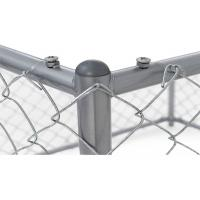 China Removable Temporary Dog Fence Outdoor Dog Barrier For Yard Anti Impact on sale