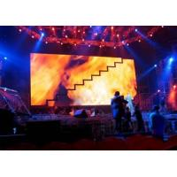 High definition flexible Taiwan P25 Led Curtain Displays , led video wall for stage show