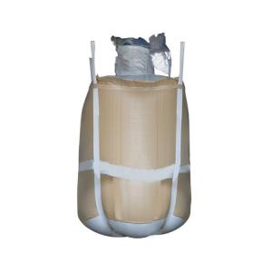 China Moisture Proof FIBC Bulk Bags With Full Belt , 1500 KG Flexible Container Bag on sale