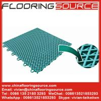 PP Interlock Tile Sports Flooring basketball court flooring table tennis court flooring