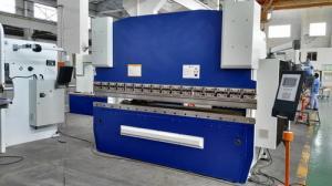 China 3.2M Long CNC Mechanical Press Brake Machine 125T Bending Capacity SS Processing on sale