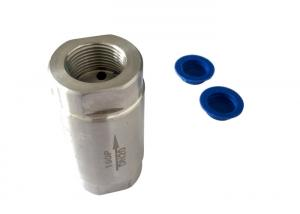 China 304 stainless steel check valve 2 pc , SS Swing Check Valve on sale